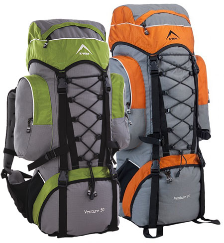 Backpacks for hire